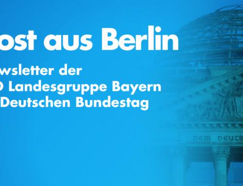 Newsletter der bayerischen Landesgruppe im Bundestag