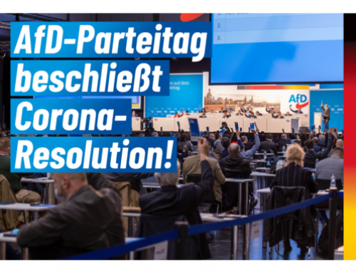 AfD-Bundesparteitag beschließt Corona-Resolution