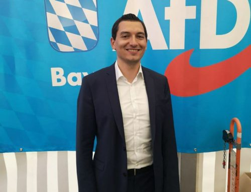 AfD Kreisvorsitzender Lukas Rehm auf Platz 19 der Liste für die Bundestagswahl gewählt
